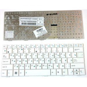 Клавиатура для ноутбука ASUS EEE PC 1001HA, 1001H. БЕЛАЯ. РУССКАЯ РАСКЛАДКА