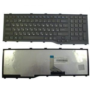 Клавиатура для ноутбука Fujitsu AH532 A532 ЧЁРНАЯ РУССКАЯ РАСКЛАДКА