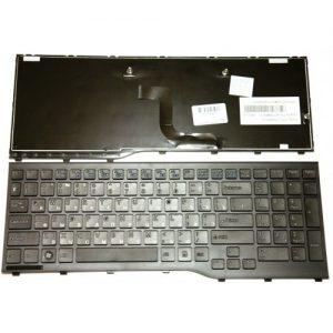 Клавиатура для ноутбука Fujitsu AH552 Black РУССКАЯ РАСКЛАДКА