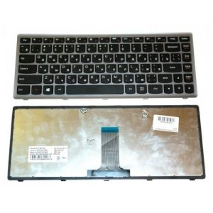 Клавиатура для ноутбука Lenovo G400s black РУССКАЯ РАСКЛАДКА