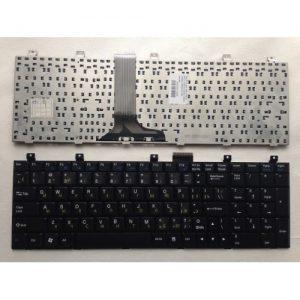 Клавиатура для ноутбука MSI GX633 M670 VX600 EX630 CR600 CR630 VR600 GT740 черная РУССКАЯ РАСКЛАДКА