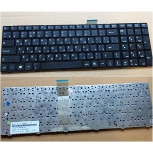 Клавиатура для ноутбука MSI GX660R GT660 A6200 GT683 black РУССКАЯ РАСКЛАДКА
