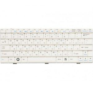 Клавиатура для ноутбука MSI WIND U100 U90 U110 U120 white РУССКАЯ РАСКЛАДКА