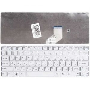 Клавиатура для ноутбука SONY Vaio SVE11 White РУССКАЯ РАСКЛАДКА