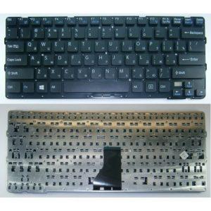 Клавиатура для ноутбука SONY Vaio SVE14 Black РУССКАЯ РАСКЛАДКА
