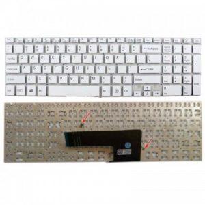 Клавиатура для ноутбука SONY Vaio SVF15 Series WHITE РУССКАЯ РАСКЛАДКА