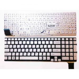 Клавиатура для ноутбука SONY Vaio SVS13 SVS 13 silver РУССКАЯ РАСКЛАДКА