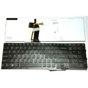 Клавиатура для ноутбука SONY Vaio SVS15 Series Black with blacklight РУССКАЯ РАСКЛАДКА