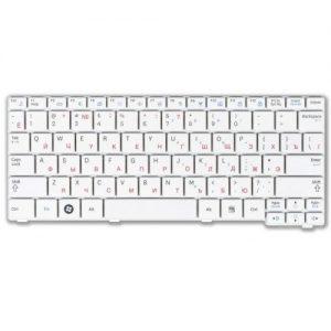 Клавиатура для ноутбука Samsung N150 N140 N145 N148 N151 NB30 N102 белая РУССКАЯ РАСКЛАДКА