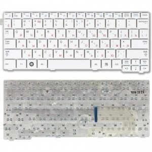 Клавиатура для ноутбука Samsung N150 N140 N145 N148 N151 NB30 белая АНГЛИЙСКАЯ РАСКЛАДКА