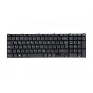 Клавиатура для ноутбука TOSHIBA Satellite S50 S55 черная в рамке РУССКАЯ РАСКЛАДКА